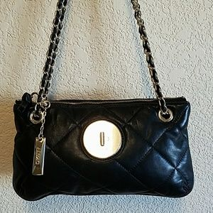 DKNY Quilted Leather Handbag